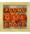 Bouquet de 13 Roses oranges