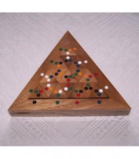 Casse tête en bois Domino Triangle