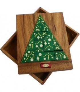 Casse-tête en bois Arbre de Noel