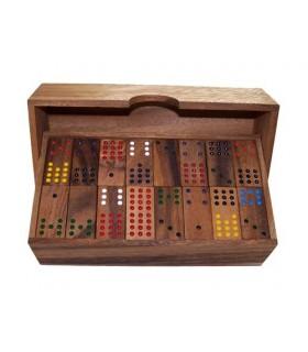 jeu de domino Double-douze en bois