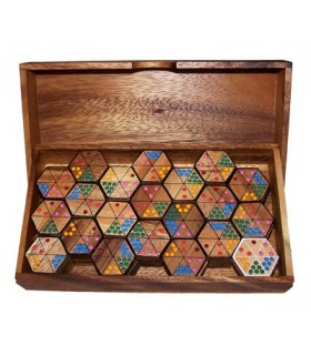 Jeu de domino Hexagonal