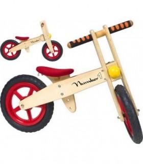 Draisienne en bois ou vélo de marche