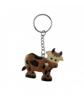 Porte-clé Vache dans le pré