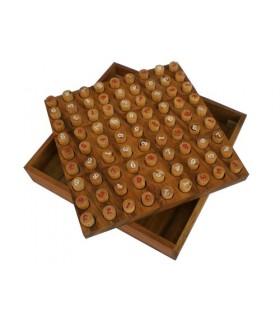 Sudoku en bois de noyer