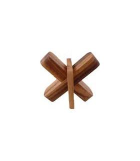 Casse-tête en bois Croix de Marseille