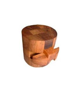 Casse-tête en bois Tonneau