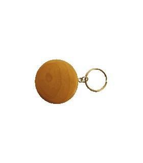Porte-clef en bois rond