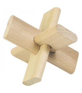 Casse-tête en bois la Croix 3D